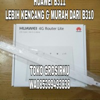 Home router Huawei B311 pengganti B310 Unlock GSM WCDMA ganti B310