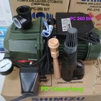 Pompa air Shimizu 250 watt pc 260 bit tanpa tabung tangki promo
