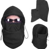 Masker Scarf balaclava multifungsi ninja kupluk Polar 6 in 1 Full Face