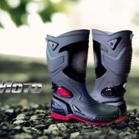 Sepatu Pria Ap Boots Moto 3 Ori