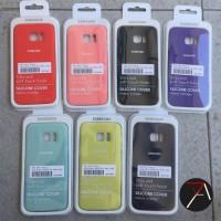 Original Case Samsung Galaxy S7 Edge Soft Silicone Rubber Back Casing