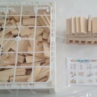 kapla balok bangun 200 balok kayu mainan edukasi