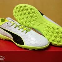 Sepatu futsal / putsal / footsal Puma evoTOUCH 3 White - TURF DISKON