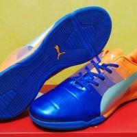 Sepatu futsal / putsal / footsal Puma Evopower 1.3 Blue DISKON
