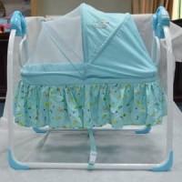 Swing Craddle Babyelle Ayunan Baby Elle Tempat tidur Ayun bayi manual