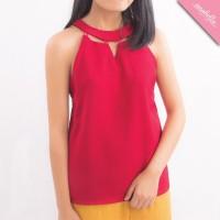 Baju Atasan Wanita Model Kutung Depan Bolong Tali FASHION IMPORT READY