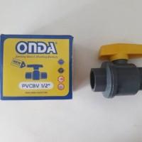 Onda Ball Valve PVC 1/2 Inch