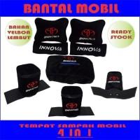 Bantal mobil Innova Headrest mobil sandaran jok mobil interior mobil