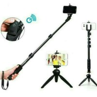 Paket Selfie Tongsis Bluetooth Yunteng YT-1288 + Mini Tripod YT-228