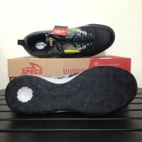 SALE Sepatu Futsal Specs Metasala Warrior Black Cool Grey 400780