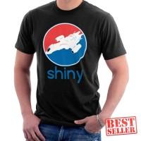 Firefly Serenity Shiny Pepsi Logo Baju Kaos Semua Warna