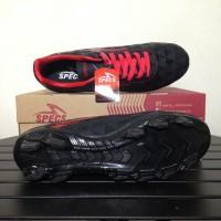 SALE Sepatu Bola Specs Quark FG Black Emperor Red 100756 Original BNIB