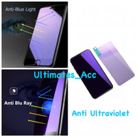 Tempered Glass Blue Light Blue Ray Anti UV Ultraviolet Iphone 7 8