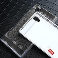 Lenovo P70 Leather Case Silikon Gel Soft Case Back Casing Cover