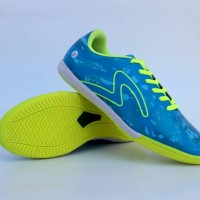 Sepatu Futsal Specs Barricada Ultima Biru List Hijau Grade Ori Premium