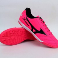 Sepatu Futsal Mizuno Fortuna Pink List Hitam Impor