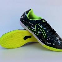 Sepatu Futsal Specs Barricada Ultima Hitam Lis Hijau Grade Ori Premium