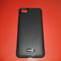 Tpu Shockproff Black Carbon Case Xiaomi Redmi 6A