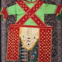 Baju blantek Dewasa Hijau Baju adat baju karnaval baju tari