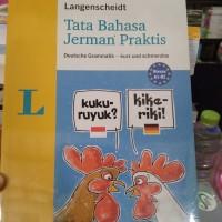 BEST SELLER ORIGINAL LANGENSCHEIDT TATA BAHASA JERMAN PRAKTIS ERLANGGA