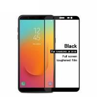 Tempered Glass Full Lem 5D Samsung J8 2018 Anti Gores Kaca Warna