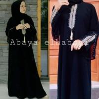 Abaya gamis abaya arab hitam heidy