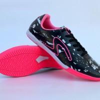 Sepatu Olahraga Futsal Specs Barricada Ultima Hitam Lis Pink Grade Ori