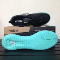Sepatu Futsal Mitre Optimize IN Black Yellow Lite T01040020 Original