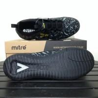 Sale Sepatu Futsal Mitre Command IN Black City Green T01040011
