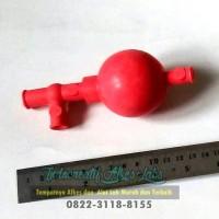 Rubber bulb / pipet filler / karet ball penghisap