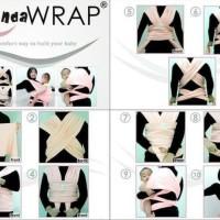 Gendongan Anak Baby Wrap Warp babywrap atau Anannda Wrap