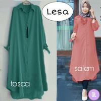 baju tunik murah/baju hijab grosir/long tunik murah/lesa tunik/gl70128