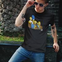 Kaos Distro Bart Simpson Family T-Shirt
