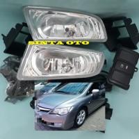 Fog Lamp Lampu Kabut Honda Civic FD 2006 2007 2008 Komplit