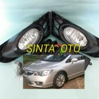 Fog Lamp Lampu Kabut Honda Civic FD 2009 2010 2011 Kabel Rellay Saklar