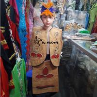 Baju Adat Papua Anak laki # Baju Adat Karnaval tk dan sd