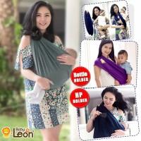 Gendongan Bayi Kaos GEOS Baby Leon Polos Ukuran Size XL