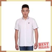Fila Baju Kemeja Basta - White