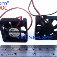 FAN DC 12V. 4x4 Cm =0,10A (ADDA.Dc Brushless)