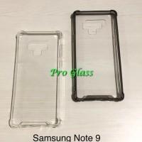 Samsung Note 9 Anticrack / Anti Crack / ACRYLIC Case Silicone Premium