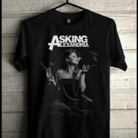 Kaos Asking Alexandria Baju Distro Bandung Bekasi Musik Metal Band