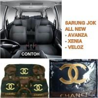 Sarung Jok Mobil All New Avanza 2012-2014 Motif CH4NEL
