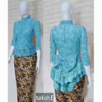 set kebaya modern/kebaya wisuda/baju pesta muslim/stelan remaja murah