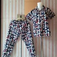 Baju tidur wanita/cewek piyama pajamas fila