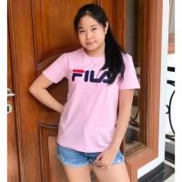 KAOS CEWEK PREMIUM T-shirt / kaos cewek / baju wanita / kaos fila