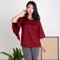 Baju wanita terbaru Atasan blouse asmirandah lengan kelelawar