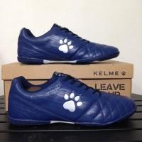 SALE Sepatu Futsal Kelme Power Grip Navy Silver 1102107 Original BNIB