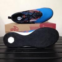 SALE Sepatu Futsal Specs Metasala Warrior Rock Blue Red 400740