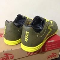 Promo Sale Sepatu Futsal Specs Quark IN Olive Zest Green 400778