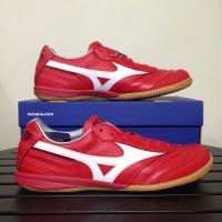 Promo Sale Sepatu Futsal Mizuno Morelia IN High Risk Red Q1GA180062